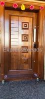 Engraved or Simple Main Door