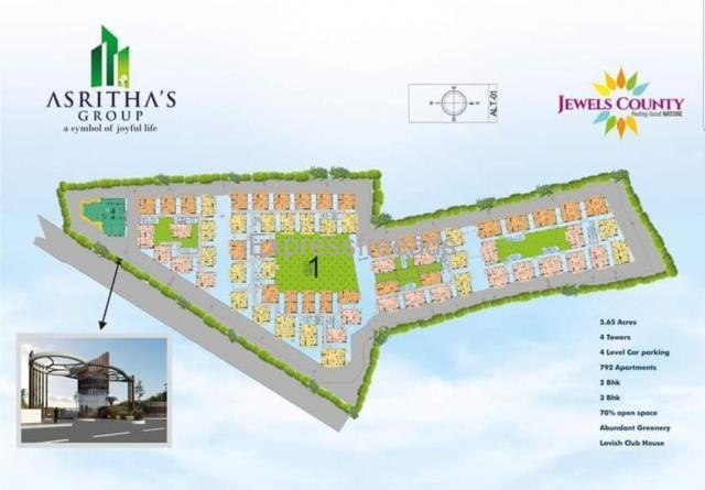 Luxury 2 bhk & 3 bhk flats for sale in Beeramguda Hyderabad.