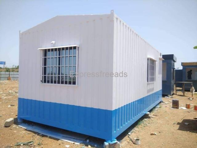Portable Container Cabins for FarmHouse Office Restaurant Guest house in Hyderabad