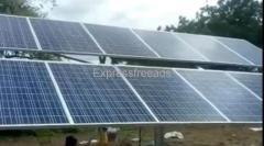 Mecwin - 3HP Solar Pump Installation Devarahipparagi, Vijayapura Karnataka