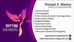 Choreographer for Events Wedding Movie Serials AwardShows