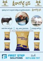 Increase fat percent in cow and Buffalo milk