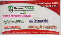 Slab and Balcony Leakage water proofing service