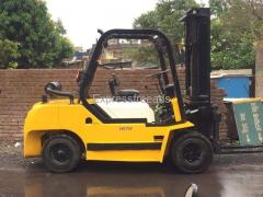 Dealing of used Forklift in Market with different load capacity