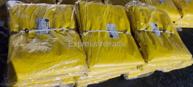 100 percent Virgin quality HDPE Tarpaulin Available
