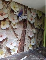 Customised Wallpaper Multicolored Modern Decor Style