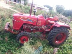 Mahindra 575 DI Second Hand Tractor For Sale Nizamabad District Telangana
