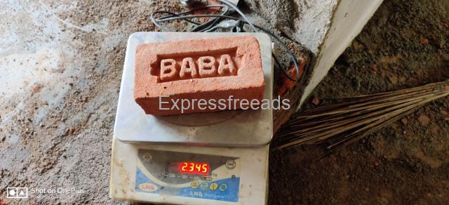 Baba Light Weight red Bricks for sale in Dharmapuri