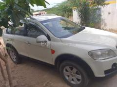 Second hand used car 7 seater Captiva Diesel 2nd owner for sale