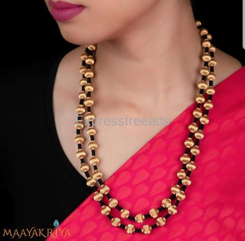 Exclusive Silver handcrafted Jewellery in Bangalore