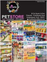 Ezzath Pet Store for Pet food and Accessories