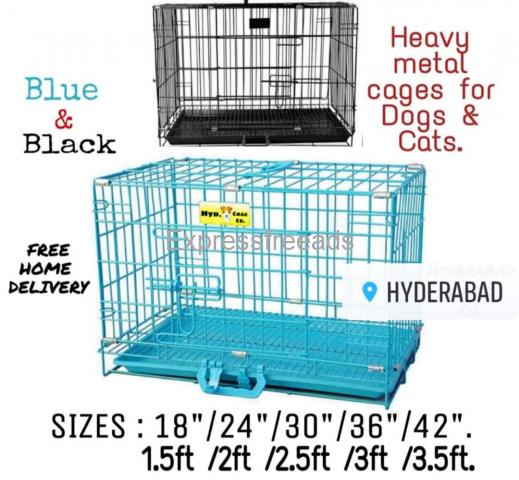 Supplier of premium quality Cats and Dogs metal pet cages