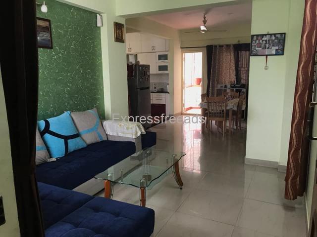 Spacious 3 BHK, 3 side open apartment in Sowparnika Ananda Sarjapur Main Road Bangaore
