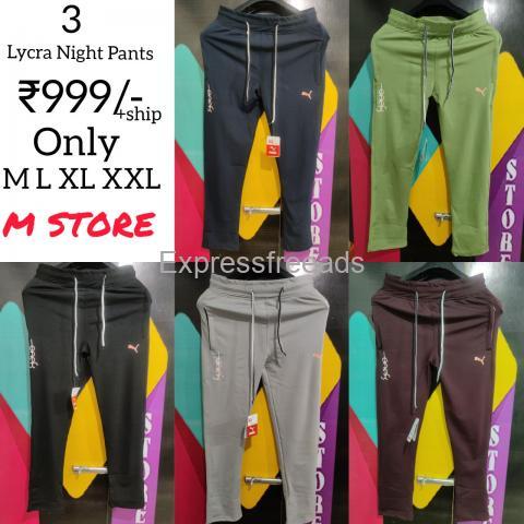Mens Lycra Night pants for Sale