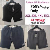 Mens Big Size Shorts Mstore Naidupeta Nellore