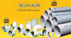 Kiran Pipe Industries PVC Pipe and Fittings Manufacturing company