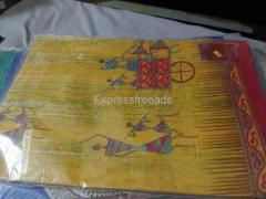 Crepe silk pure cotton and 60 Gram Sarees for sale