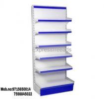 Display racks hole setup for stores