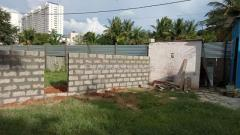 DC converted Site for sale in Hennur main road Bangalore