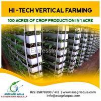 Hi Tech Vertical Farming Nature for Future