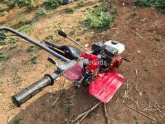Xtrapower 5hp power tiller with 3speed gearbox with plough attachment For sale