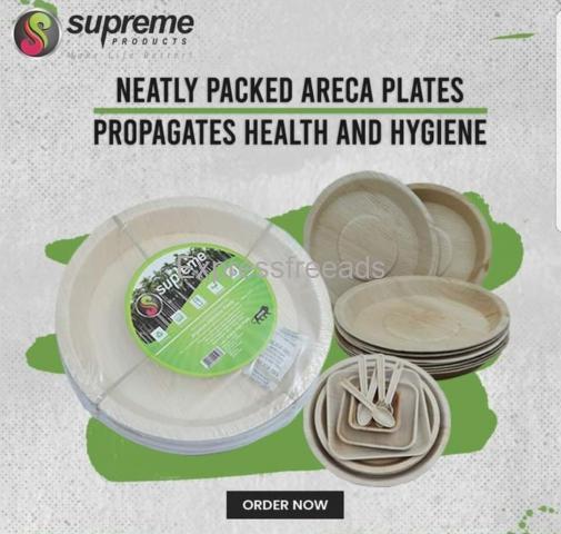 Areca plates for Sale  ( Bio degradable )