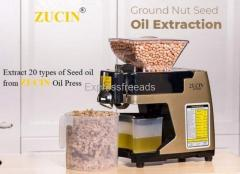 ZUCIN Home oil Maker. Extract 20 types of Seed oils